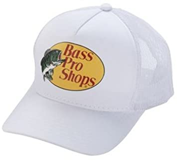 Bass pro shops Mesh White  Amazon.ca  Sports   Outdoors b54b1d3aac3