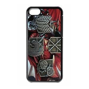 iPhone 5C Phone Case Attack On Titan W9B34596