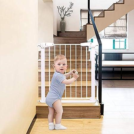 Huo Barrera de Seguridad del Bebé for El Aislamiento de Barandas Escaleras Telescópicas for Mascotas Puerta Door Bar Inicio del Animal Doméstico (Size : 93-96cm): Amazon.es: Hogar