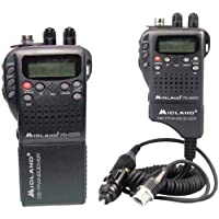 MIDLAND 75-822 Handheld 40-Channel CB Radio with Weather/All-Hazard Monit...