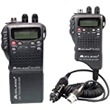 Midland Handheld 40-Channel Cb Radio With Weather/All-Hazard Monitor & Mobile Adapter ''Product Category: Cb Radios & Accessories/Cb Radios''