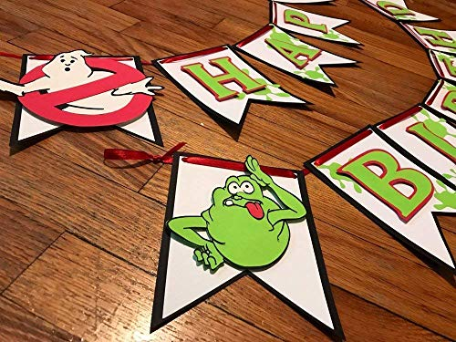 Ghost Themed Party Banner -