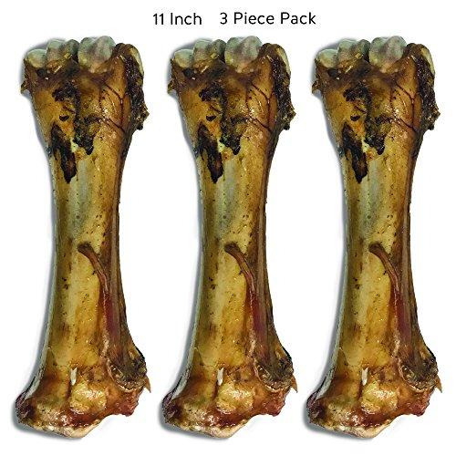 Jack & Pup Premium Grade Roasted Meaty Beef Shin Bone Dog Treats (3 Pack) - 11