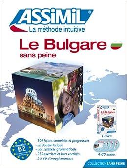 Le Bulgare sans Peine ; Livre + CD Audio (x4)