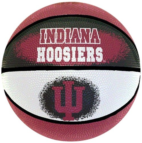 NCAA Indiana Hoosiers Mini Basketball, 7-Inches Indiana Basketball