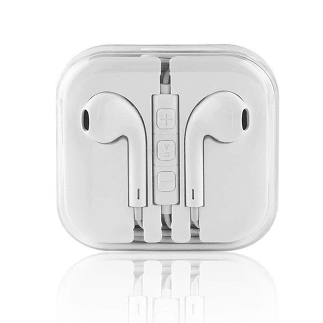 RBO Ecouteurs Intra-Auriculaires Filaires Kit Piéton Muni d\'un Micro et Contrôle de Volume - Kit Main Libre avec Une présence de Bass Compatible avec Les Smartphones avec Jack 3.5mm (1 Pack)