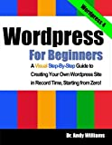 Wordpress for Beginners, Andy Williams, 1490532471