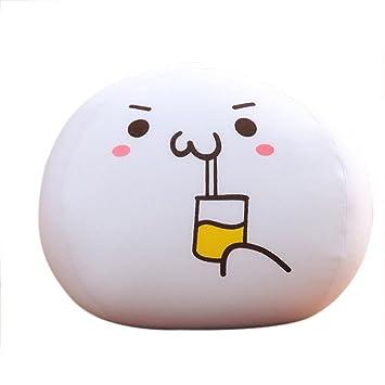 Amazon com: Sankuwen Emoji Foam Particles Cushion Pillow