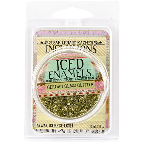 ICE Resin Glass Glitter, Chartreuse