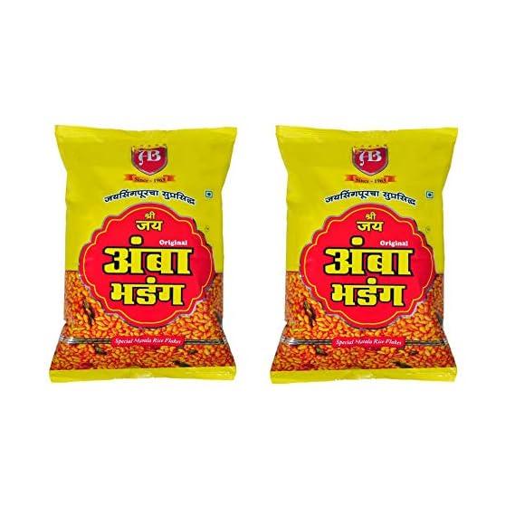 Shree Jay Amba Bhadang Garlic, 500 g Each - Pack of 2