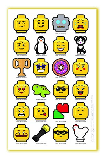 LEGO Classic 8 Piece Journal Stationery Set - Journal, Pencils, Erasers, Minifigure and More by LEGO (Image #4)