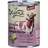 Purina Beyond Grain Free Beef & Spinach Recipe Adult Wet Dog Food - Twelve (12) 12.5 oz. Cans