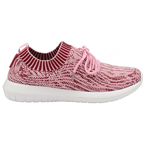 Gola Womens/Ladies Evolve Sneakers Pink/White SyW8iA8