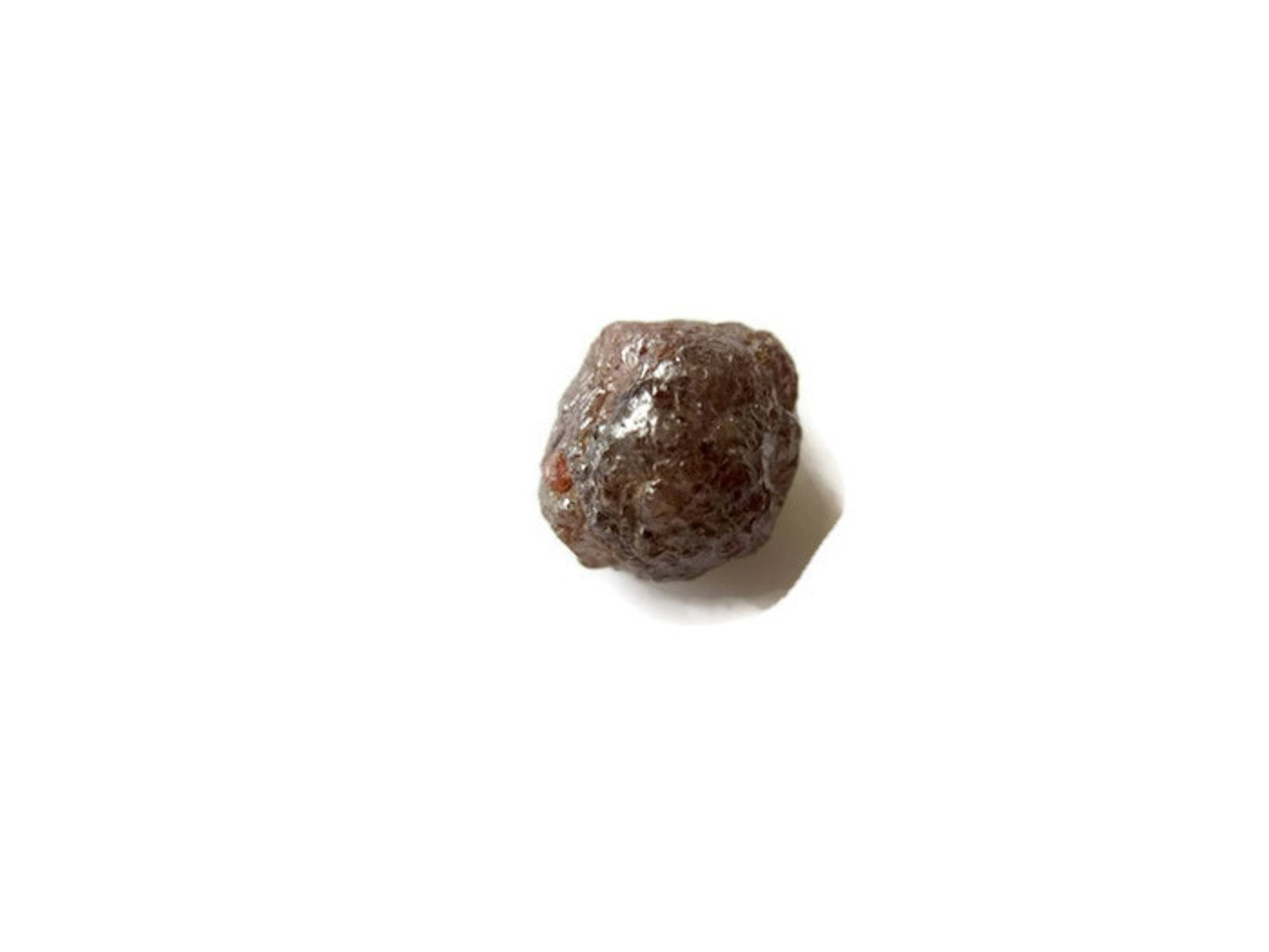 9.7x9.4x9.5mm 7.15CTW OOAK Natural Red Rough Diamond Loose, Natural Uncut Diamond Loose -DDS494/16