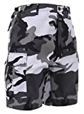 Rothco P/C BDU Shorts, City Camo, Large