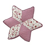 Rural Soft Home/Office Star Seat Cushion Chair Pad Back Cushion,G