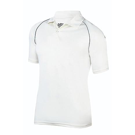 f25f7a4fe331 Amazon.com   DSC Cricket Uniform Dryfit Dress White Navy   Sports ...