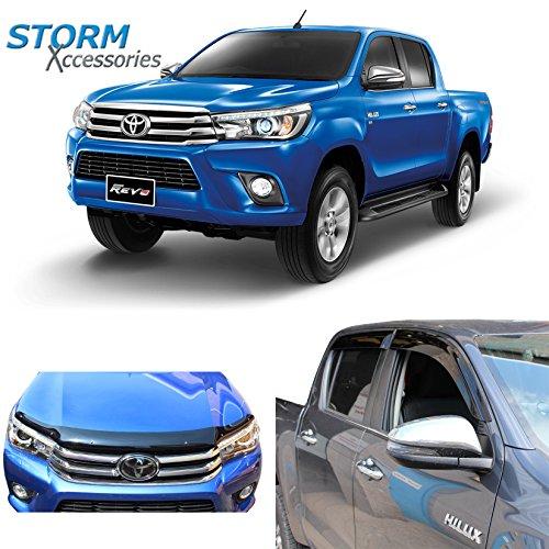 Wind Deflectors Toyota Hilux Xtra Cab+Sing Cab 2D 98-2