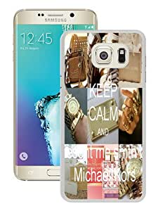 Newest M-K Samsung Galaxy Note 5 Edge Case ,Unique Michael Kors 46 White Samsung Note 5 Edge Cover Case Fashion And Durable Designed Phone Case