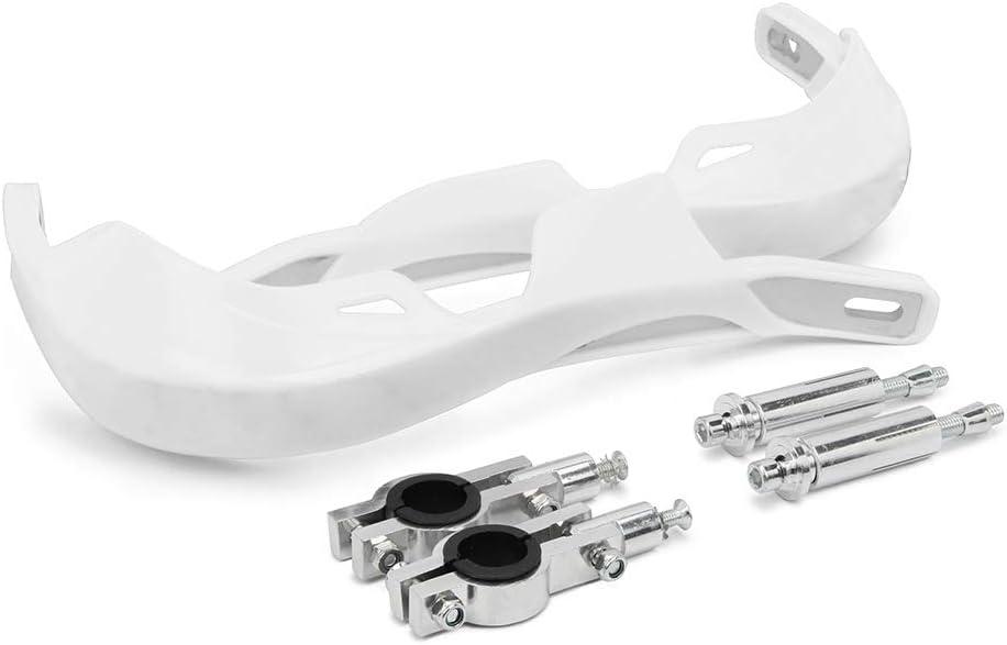 Protecciones de Mano para Motocicletas Protecciones de Mano para Bicicleta de Suciedad Universal para manillares de 22 mm y 28 mm Azul