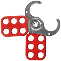 Pasador de bloqueo de bloqueo maestro, Pasador de acero recubierto de vinilo, 1 in. Quijada de mordaza, 420