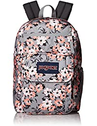 Digital Student Laptop Backpack- Sale Colors (Coral Sparkle Pretty