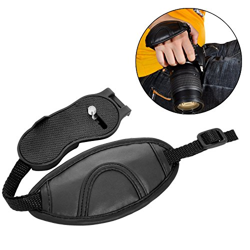 Portable Adjustable Camera Wrist Grip Strap Hand Grip for DSLR SLR Camera Canon Nikon Sony Pentax Minolta Panasonic Olympus Kodak