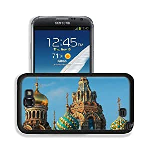 Architecture Russia Buildings Churches Landscape Samsung Galaxy Note 2 Snap Cover Premium Leather Design Back Plate Case Customized Made to Order Support Ready 6 inch (152mm) x 3 2/8 inch (82mm) x 4/8 inch (13mm) MSD Galaxy Note 2 Professional Leather Pla
