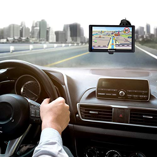 Aonerex GPS Navigation for Car, Sat Nav 7 inch Touch Screen