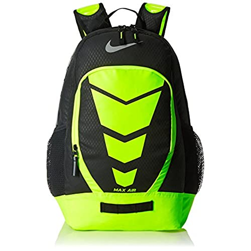 2739bfbffb durable modeling Nike Vapor BP Large Backpack Black/Volt/Met Silver ...