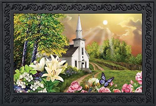 Briarwood Lane Spring Church Doormat Religious Indoor Outdoor 18 x 30