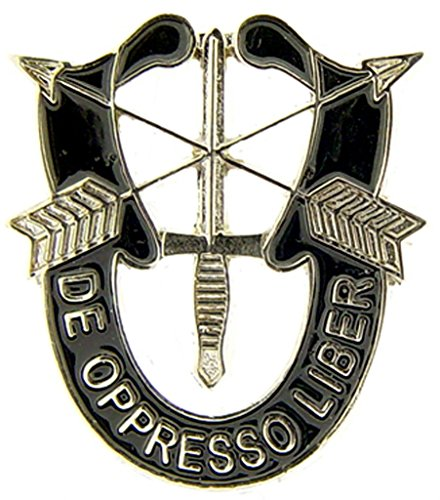 Special Forces Lapel Pin - US Army Special Forces Logo Pin Military Collectibles for Men Women