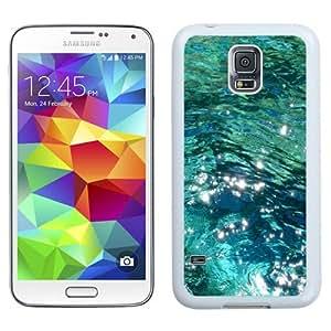 NEW Unique Custom Designed Samsung Galaxy S5 I9600 G900a G900v G900p G900t G900w Phone Case With Ocean Water_White Phone Case