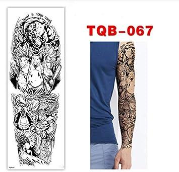 yyyDL Plein Fleur Bras De Tatouage Autocollant