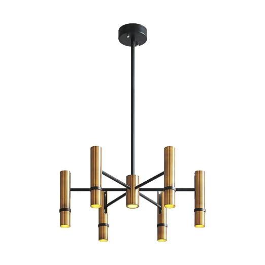 Lingkai - Lámpara de techo ajustable, LED, diseño moderno ...