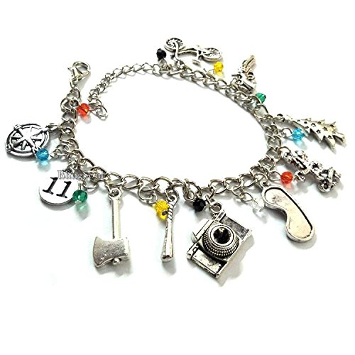 Things Stranger Bracelet for Women - 011, Bob, Dustin, Chief Hopper Costume Merchandise Erica, Lucas, Barb Gifts (Peter Pan Once Upon A Time Love Story)