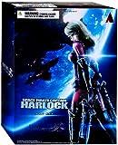 Space Pirate Captain Harlock Play Arts Kai Kei Yuki Action Figure