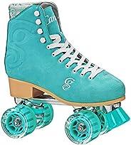 Roller Derby Elite Candi Women's Carlin Roller Skate, Sea Foam, Siz