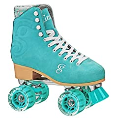 Roll out in style with the candy girl carlin roller skate. This hot new skate from Roller Derby Elite sizzles in some of the freshest eye catching colors you love. The carlin is made from high grade suede to give you style, comfort and durabi...