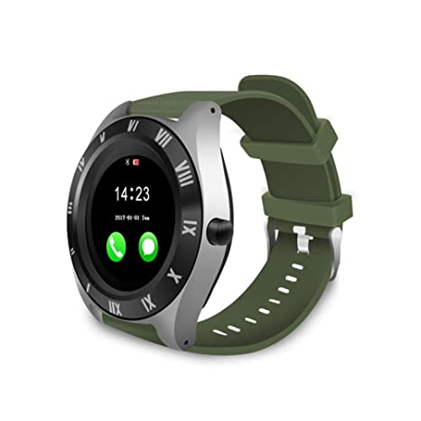 Amazon.com: Ladeyi Smartwatch M11 Large Round Screen ...