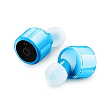 Auriculares Bluetooth, Bodecin TWS Gemelos Auriculares Inalámbricos Bluetooth Mini Invisible V4.1 Sonido Envolvente