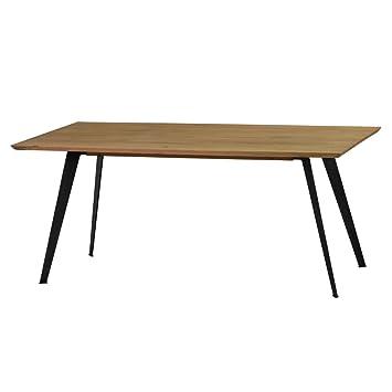 Schön Esstisch Tisch Esszimmertisch Lalon 200x100 Cm, Modernes Industrie Design, Massivholz  Holz Eiche Massiv