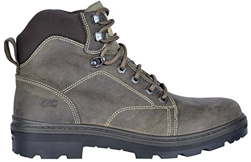 7d12fe7356d76 Cofra 25510-000.W44 Size 44 S3 SRC Land Bis Safety Shoes - Brown by ...