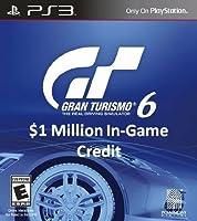 Gran Turismo 6: $1 Million In-Game Credit  - PS3 [Digital Code]