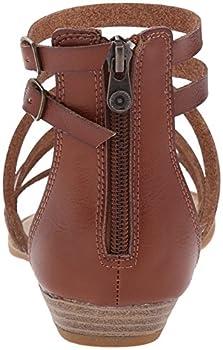Blowfish Women's Bungalow Sandal, Whiskey, 10 M Us 1