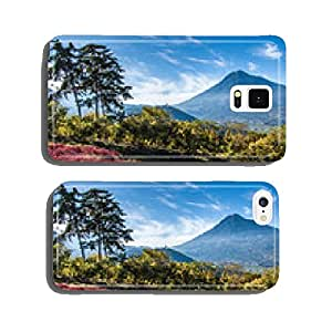 View of Agua Volcano outside Antigua, Guatemala cell phone cover case iPhone5