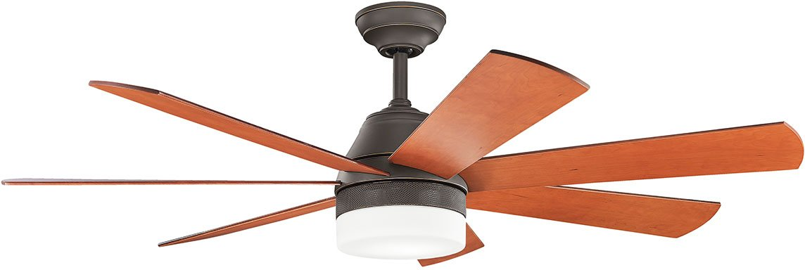 Kichler Lighting 300239OZ 56 Ceiling Fan From the Ellys Collection