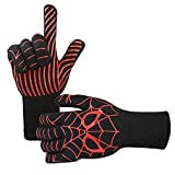 Goutoday BBQ Grilling Cooking Gloves , 932°F Heat Resistant Oven...
