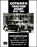 Citroen Traction Avant, 1934-1957, R. M. Clarke, 1855207672