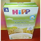HIPP BABY RICE ORGANIC CEREAL PAP 1 PACK 200g NO ADDED SUGAR,FROM 4 MONTHS,FRESH